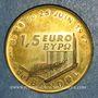 Monnaies Euro des Villes. Bandol (83). 1,5 euro 1997