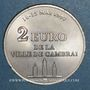 Monnaies Euro des Villes. Cambrai (59). 2 euro 1997