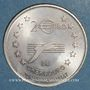 Monnaies Euro des Villes. Cherbourg (50). 2 euro 1997