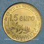 Monnaies Euro des Villes. Cotignac (83). 1,5 euro 1997