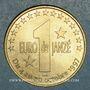Monnaies Euro des Villes. Janzé (35). 1euro 1997