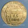 Monnaies Euro des Villes. Malijai (04). 1,5 euro 1996
