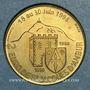 Monnaies Euro des Villes. Saint-Jacques-d'Ambur (63). 2 euro 1998