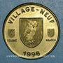 Monnaies Euro des Villes. Village-Neuf (68). 5 euros 1996