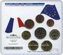 Monnaies France. Série B.U., euro, 2010. 70e anniversaire de l'Appel du 18 Juin, Le Mont Valérien, N° 169