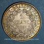 Monnaies Gouvernement de Défense Nationale (1870-1871). 1 franc Cérès 1871A