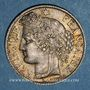 Monnaies Gouvernement de Défense Nationale (1870-1871). 1 franc Cérès 1871K. Bordeaux