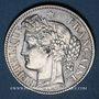 Monnaies Gouvernement de Défense Nationale (1870-1871). 2 francs avec légende. 1871K. Bordeaux. Petit K