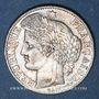 Monnaies Gouvernement de défense nationale (1870-1871). 50 centimes Cères 1871 K. Bordeaux