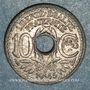 Monnaies Gouvernement provisoire (1944-1947). 10 cmes 1945