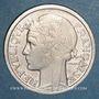 Monnaies Gouvernement provisoire (1944-1947). 2 francs Morlon aluminium 1944