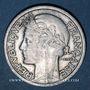 Monnaies Gouvernement provisoire (1944-1947). 2 francs Morlon aluminium 1945 C