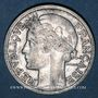 Monnaies Gouvernement provisoire (1944-1947). 2 francs Morlon aluminium 1946 B