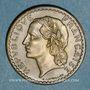 Monnaies Gouvernement provisoire (1944-1947). 5 francs Lavrillier bronze d'aluminium 1945
