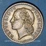 Monnaies Gouvernement provisoire (1944-1947). 5 francs Lavrillier bronze d'aluminium 1946 C