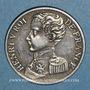 Monnaies Henri V, prétendant (1830-1883). 1 franc tranche striée 1831