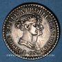 Monnaies Italie. Duché de Parme. Piacenza et Guastalla. Marie Louise d'Autriche (1815-1847). 1 franc 1808