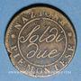 Monnaies Italie. Gaule Subalpine (1800-1802). 2 soldi an 9 (= 1801). Turin