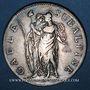 Monnaies Italie. Gaule Subalpine (1800-1802). 5 francs an 10 (= 1802). Turin