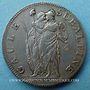 Monnaies Italie, Gaule Subalpine (1800-1802), 5 francs an 10 (=1802)