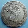 Monnaies Italie. Lucques et Piombino. Elisa Bonaparte et Félix Baciocchi (1805-1814). 5 francs 1805