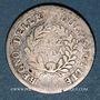 Monnaies Italie. Royaume de Naples et des Deux Siciles. Joachim Murat (1808-1815). 1/2 lire 1813