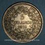 Monnaies La Commune (18 mars - 28 mai 1871). 5 francs Hercule 1871A. Camélinat