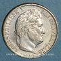 Monnaies Louis-Philippe (1830-1848). 1/2 franc 1845 A