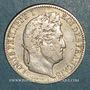 Monnaies Louis-Philippe (1830-1848). 1/2 franc 1845 W. Lille