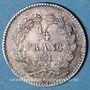 Monnaies Louis Philippe (1830-1848). 1/4 franc 1831A