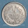 Monnaies Louis Philippe (1830-1848). 1/4 franc 1832 W. Lille