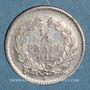 Monnaies Louis Philippe (1830-1848). 1/4 franc 1832W. Lille