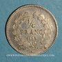 Monnaies Louis Philippe (1830-1848). 1/4 franc 1835 A