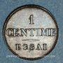 Monnaies Louis Philippe (1830-1848). 1 centime n. d. (1843-1846). Essai. Poids réduit : 0,97 g