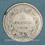 Monnaies Louis Philippe (1830-1848). 2 francs 1838A