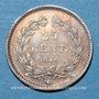 Monnaies Louis-Philippe (1830-1848). 25 centimes 1846 A