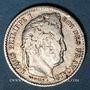 Monnaies Louis-Philippe (1830-1848). 25 centimes 1846BB. Strasbourg. 7 922 ex !