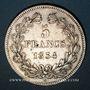 Monnaies Louis Philippe (1830-1848). 5 francs 1833 W. Lille