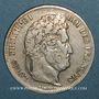 Monnaies Louis Philippe (1830-1848). 5 francs 1834M. Toulouse