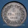 Monnaies Louis Philippe (1830-1848). 5 francs 1835B. Rouen