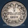 Monnaies Louis Philippe (1830-1848). 5 francs 1837W. Lille