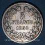 Monnaies Louis Philippe (1830-1848). 5 francs 1838 A