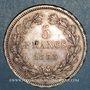 Monnaies Louis Philippe (1830-1848). 5 francs 1838MA. Marseille