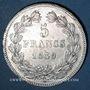 Monnaies Louis Philippe (1830-1848). 5 francs 1839W. Lille