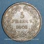 Monnaies Louis Philippe (1830-1848). 5 francs 1840B. Rouen