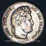 Monnaies Louis Philippe (1830-1848). 5 francs 1840W. Lille
