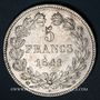 Monnaies Louis Philippe (1830-1848). 5 francs 1841BB. Strasbourg