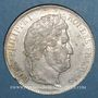 Monnaies Louis Philippe (1830-1848). 5 francs 1842W. Lille