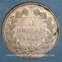 Monnaies Louis Philippe (1830-1848). 5 francs 1843 W. Lille