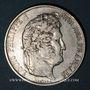 Monnaies Louis Philippe (1830-1848). 5 francs 1844BB. Strasbourg
